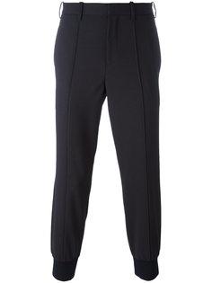 классические брюки с присборенными щиколотками Neil Barrett