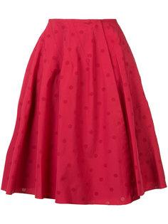 dotted pattern skirt Alaïa