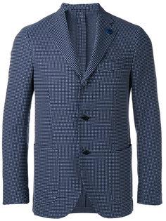 клетчатый пиджак Lardini