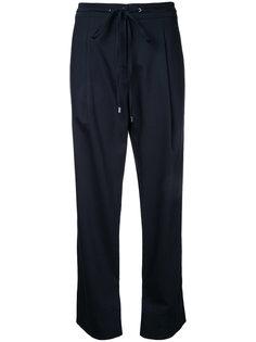 брюки на завязках Jil Sander Navy