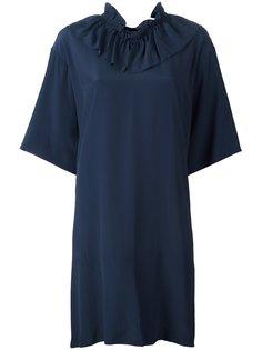 платье с оборочным воротником Marni
