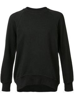 crew neck sweatshirt En Noir