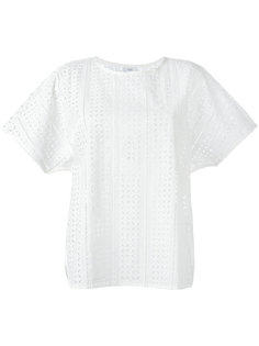 футболка с вышивкой Closed