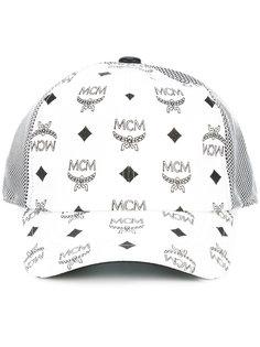 кепка с принтом-логотипом MCM
