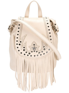 сумка на плечо с бахромой Just Cavalli