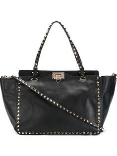 сумка-тоут Rockstud в форме трапеции Valentino