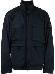куртка с отворотной горловиной на молнии Stone Island