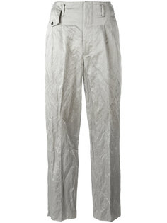 crinkle effect trousers Golden Goose Deluxe Brand