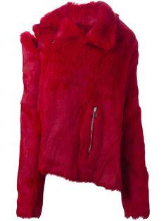 меховая куртка Marquesalmeida