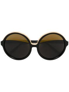 крупные круглые солнцезащитные очки Nº21