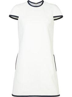 piped trim dress Thom Browne