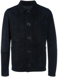 куртка-бомбер на кнопках Drome
