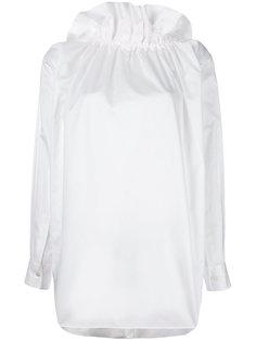 рубашка с оборками на шее Comme Des Garçons