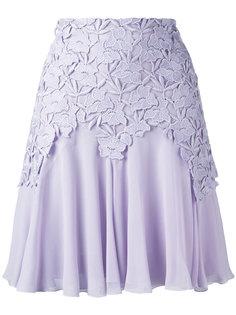 юбка с кружевной отделкой Giambattista Valli