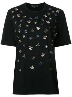 футболка с вышивкой  Markus Lupfer