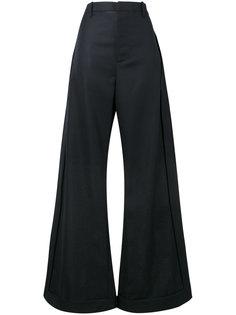 широкие брюки с завышенной талией Jacquemus