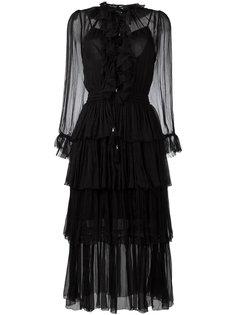 платье Winsome Tier  Zimmermann