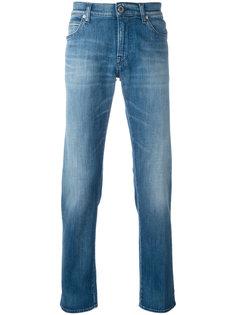 джинсы прямого кроя Emporio Armani