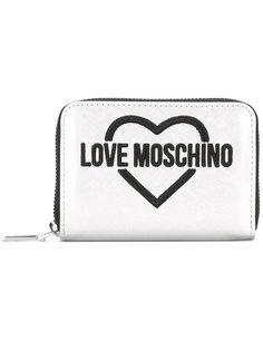 кошелек с принтом-логотипом Love Moschino