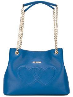 сумка на плечо heart Love Moschino