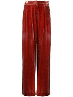 Velvet Viceroy trousers Bianca Spender