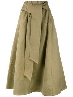 юбка миди с узлом спереди Joseph