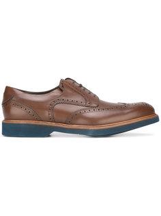 ботинки Дерби с перфорацией  Salvatore Ferragamo