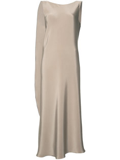 draped midi dress Peter Cohen