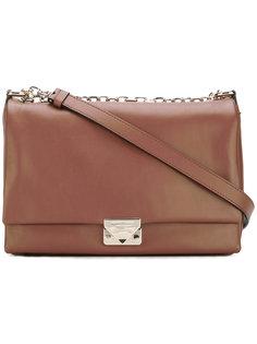 сумка на плечо с бляшкой с логотипом Emporio Armani