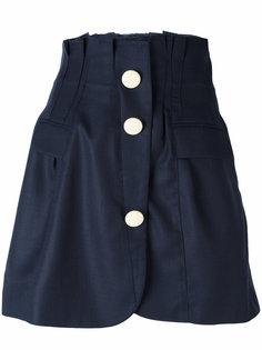 юбка на пуговицах с бахромой Jacquemus