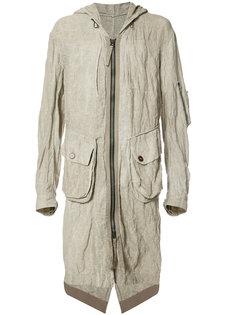 cargo pocket coat Ziggy Chen