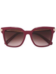 солнцезащитные очки с квадратной оправой Salvatore Ferragamo