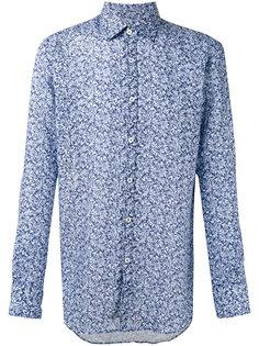рубашка кроя слим с цветочным принтом Canali