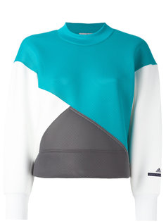 толстовка дизайна колор-блок Adidas By Stella Mccartney