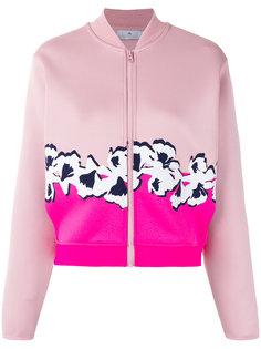 куртка бомбер с цветочным принтом Adidas By Stella Mccartney