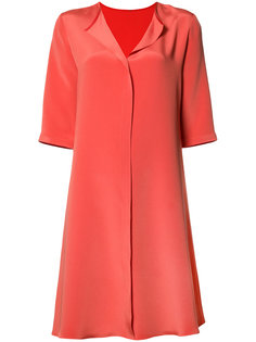 split neck dress Peter Cohen