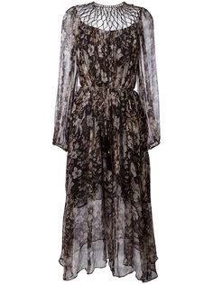 длинное платье Gossamer Lattice  Zimmermann