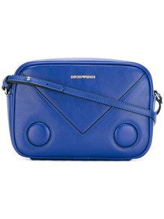 сумка через плечо с принтом-логотипом Emporio Armani