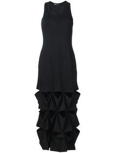платье с вырезными деталями Y-3