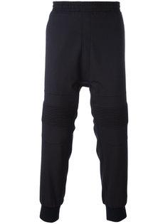 спортивные брюки с ребристыми панелями Neil Barrett