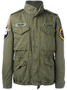 куртка с заплатками Ralph Lauren