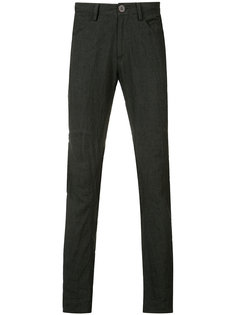 creased effect trousers Ziggy Chen