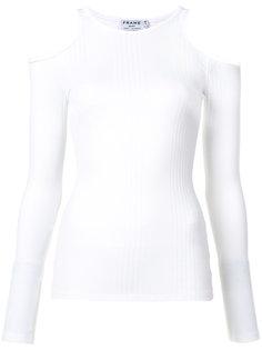 cold-shoulder top Frame Denim