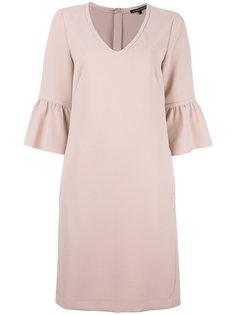 платье шифт с драпированными рукавами Luisa Cerano