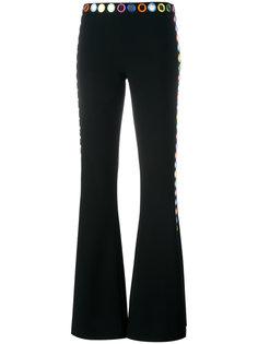 декорированные расклешенные брюки Moschino