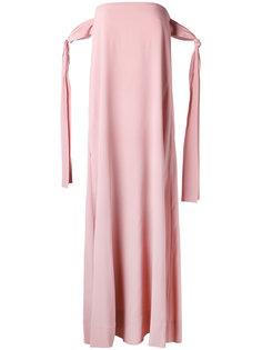 платье-шифт без бретелек Erika Cavallini