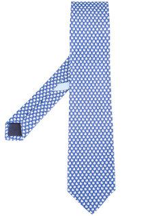 галстук с принтом волчков Salvatore Ferragamo