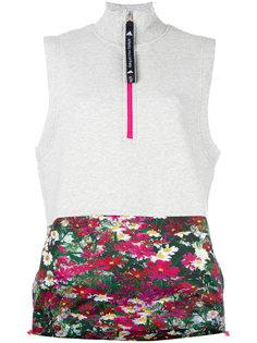 топ с контрастной окантовкой Adidas By Stella Mccartney