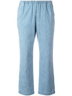 укороченные брюки с эластичным поясом Masscob