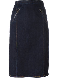 юбка миди прямого кроя Polo Ralph Lauren
